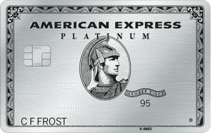 The Platinum Card from American Express 券面画像