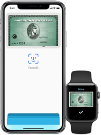 American Express with Apple Payのイメージ